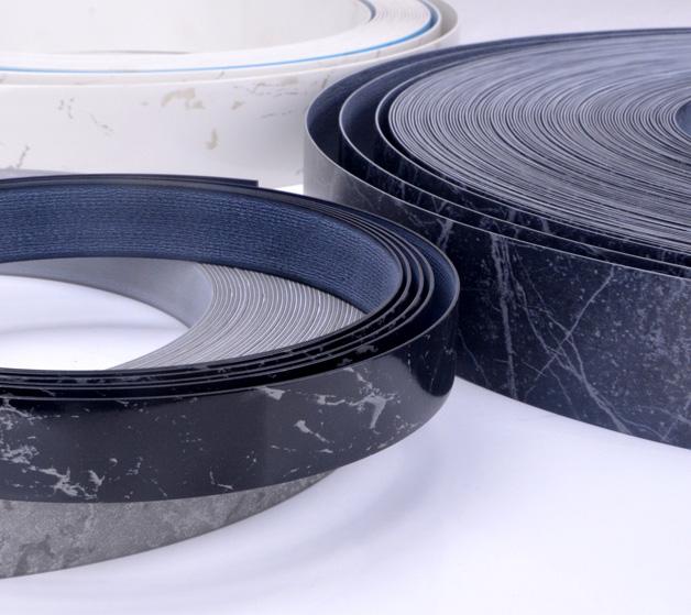 PVC仿石纹封边条