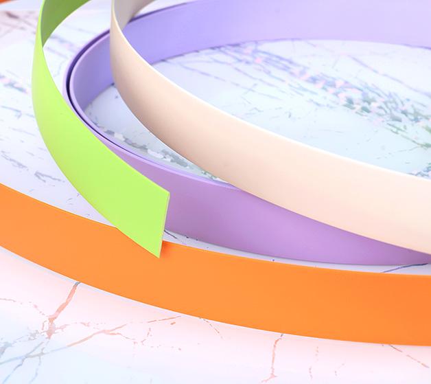 PVC素色封边条