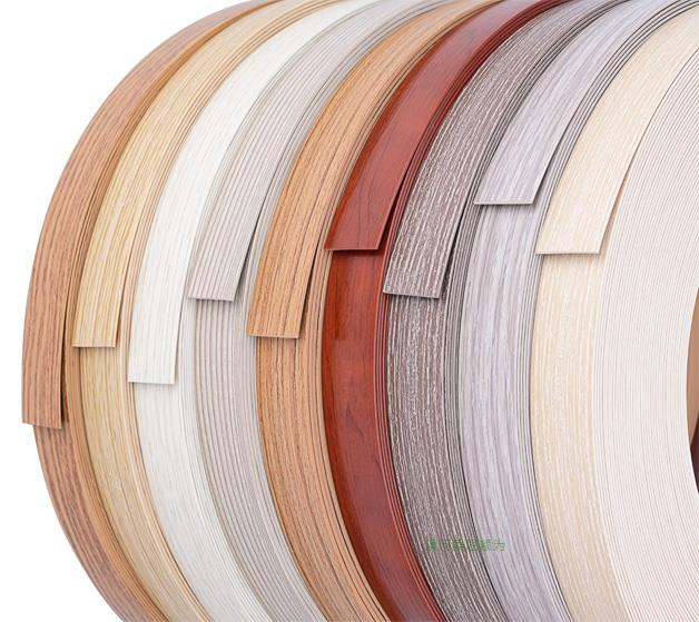 PVC木纹封边条素色封边条高亮光封边条